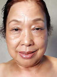 Granny, Grannies, Shaved, Asian mature, Aged, Mature asian