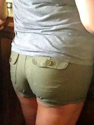 Thick, Candid, Shorts, Short, Thick ass