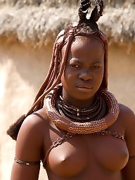 African, Big black tits, Tribal, Ebony boobs, Ebony big tits, Big black