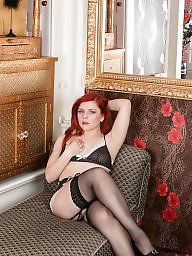 Couple, Couples, Redhead milf, Lingere