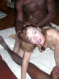 Interracial amateur, Whores