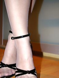 High heels, Stockings, Heels