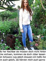 Caption, Captions, German captions, Milf captions, German, German caption