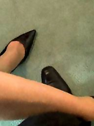 Skirt, Office, Pump, Milfs, Milf stocking