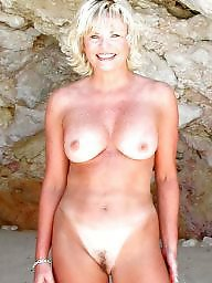 Mature beach, Beach mature, Natural, Mature tits, Natural tits, Bunny