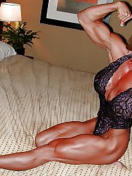 Hot, Hot mature, Female, Bodybuilder