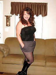 Boots, Mature boots, Stocking mature, Tight, Tights