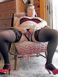 Grannies, Fatty, Stocking, Granny stockings, Granny stocking