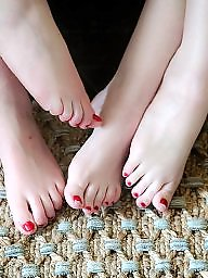 Mature feet, Teen feet, Teen mature, Mature women