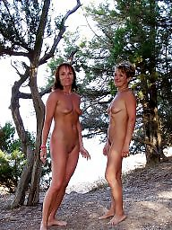 Nudist, Beach mature