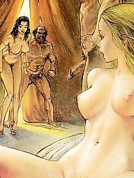 Cartoon, Art, Erotic, Vintage cartoon, Vintage cartoons, Erotic art