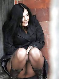 Mature, Stocking, Mature stockings