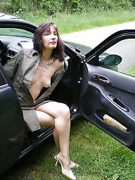 Dogging, Outdoor, Upskirts