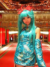 Dressed, Teen dress, China, Asian teen, Cosplay, Teen asian