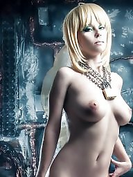 Blonde, Cosplay, Teen tits
