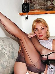 Lady, Upskirt stockings