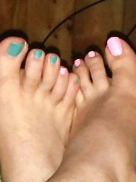 Toes, Paint, Work
