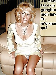 Cuckold, Caption, Cuckold captions, French, Mature captions, French mature