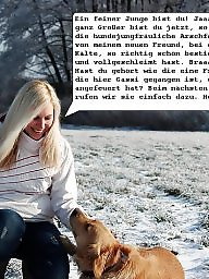 German caption, German captions, Captions, German teen, German milf, German