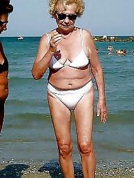 Granny beach, Granny, Beach granny, Beach, Mature beach, Amateur granny