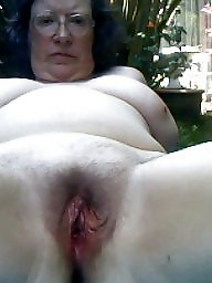 Big tits, Outside