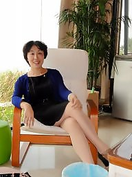 Asian mature, Clothed, Mature asian, Cloth, Mature clothed