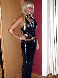 Latex, Leather, Pvc, Teen, Teen amateur, Mature leather
