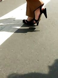Mature feet, Spy, Shoes, Shoe, Romanian, Foot