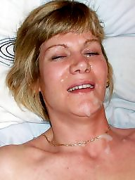 Facial, Exposed, Wives, Milf facial, Amateur facial, Expose