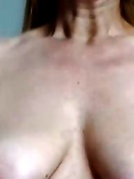 Redhead mature, Hard, Nipple, Mature flashing, Mature busty, Mature boobs