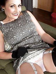 Stockings, Lingerie, Classic, Mature lingerie, Stockings mature, Milf lingerie