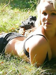 Outdoors, Outdoor, German, Blonde teen, Teen outdoor