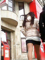 Mini skirt, Skirt, Spy, Hidden, Romanian, Hidden cam