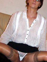 Milf stockings, Stocking mature