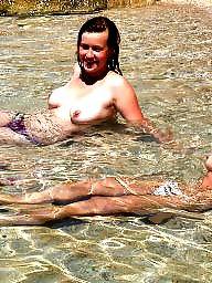 Beach, Tits, Tit, Beach tits, Amateur tits