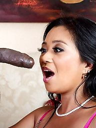 Thai, Asian interracial, Asian blowjob, Interracial blowjob