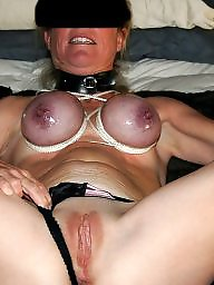 Bound, Purple, Breast, Breasts, Bounded