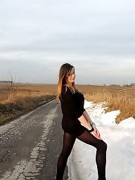 Upskirt stockings, Leggings, Stockings voyeur