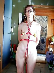 Mature bdsm, Roped, Mature slut, Slut mature, Rope, Bdsm mature