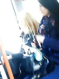 Voyeur, Bus, Spy, Romanian, Spy cam, Teen and mature