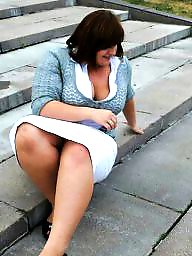Thighs, Bbw upskirt, Upskirts, Full mini