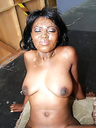 Bukkake, Ebony blowjob