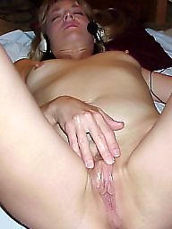 Blonde wife, Wife flashes, Sexy wife