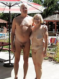 Nudist, Nudists, Couple, Mature nudist, Public mature, Mature public