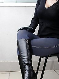 Latex, Femdom, Boots, Leather, Boot