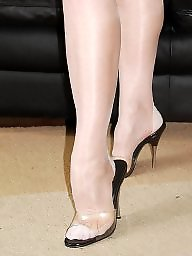 Nylon, High heels, Heels, Nylons, High, Nylon stockings