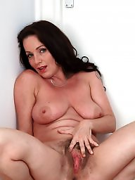Hot milf, Hairy milf, Brunette milf
