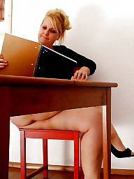 Bbw mature, Office, Mature upskirt, Upskirt mature, Bbw upskirt