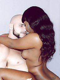 White, Interracial blowjob