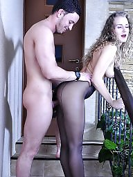 Fucking, Mature stocking, Mature in stockings, Mature fuck, Mature hardcore, Mature in seamed stocking